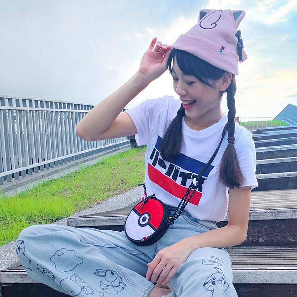 Levis X Pokemon 寶可夢限量聯名 男女同款 胖丁毛帽 / 精靈球旗標