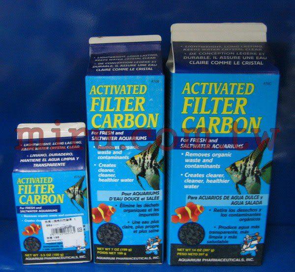 【西高地水族坊】美國魚博士API 強效活性碳素FILTER CARBON(100g)