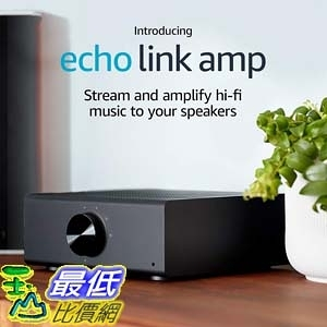 [7美國直購] Amazon Echo Link Amp - Stream and amplify hi-fi music to your speakers