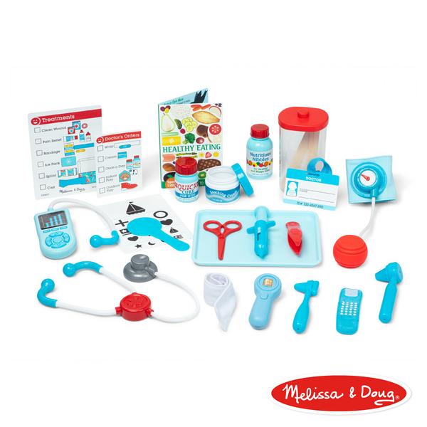 《 美國 Melissa & Doug 》角色扮演 - 小醫生診療遊戲組 / JOYBUS玩具百貨