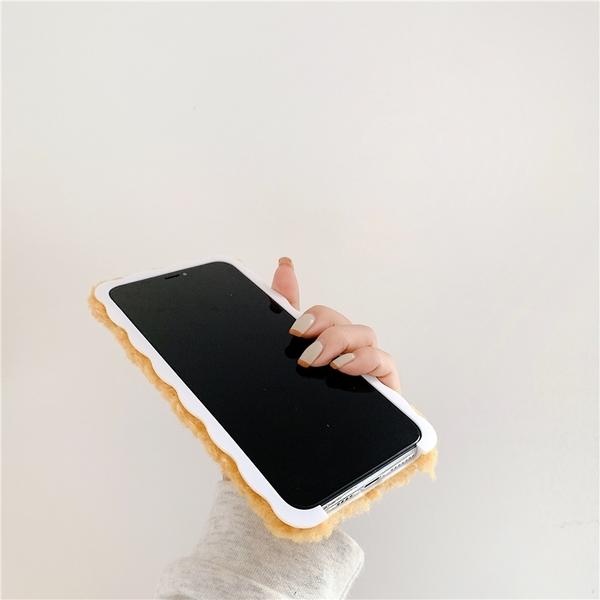 iPhone12 蘋果手機殼 預購 秋冬毛茸茸玻尿酸鴨 毛絨軟殼 i11/iX/i8/i7/SE