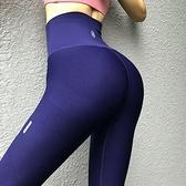 提臀緊身健身褲女爆汗褲高彈力運動速干高腰翹臀瑜伽長褲【步行者戶外生活館】
