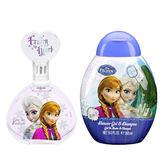Disney 迪士尼 Frozen 冰雪奇緣 淡香水禮盒(淡香水100ml+沐浴洗髮精300ml)