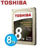 Toshiba N300 3.5吋 8TB NAS 專用硬碟 HDWN180AZSTA