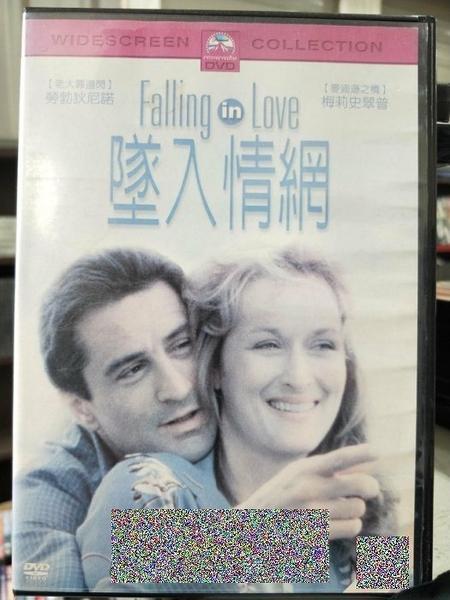 挖寶二手片-Z55-005-正版DVD-電影【墜入情網】-經典片 勞勃狄尼洛 梅莉史翠普