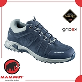 【MAMMUT 男 Convey Low GTX 《海洋藍》】3030-03220-50115/登山鞋/健行/戶外/防水透氣