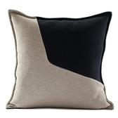 港式枕套拼接抱北歐靠枕沙發床頭靠墊靠背【聚寶屋】