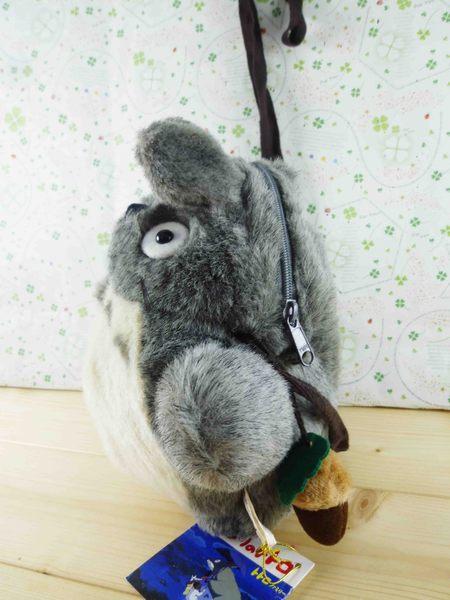 【震撼精品百貨】となりのトトロTotoro_龍貓/豆豆龍~袋子-深灰色