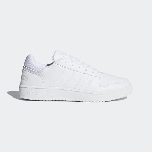 Adidas NEO Hoops 2.0 [DB1085] 男鞋 運動 休閒 慢跑 路跑 健身 穿搭 情侶 愛迪達 白