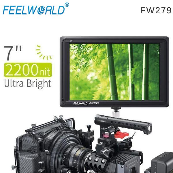 EGE 一番購】Feelworld【FW279】7吋/HDMI/高亮2200nit/1920x1200外接螢幕【公司貨】
