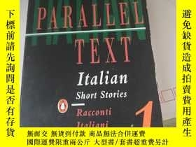 二手書博民逛書店PENGUIN罕見PARALLEL TEXT Italian Short Stories (1)Y3701 R