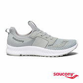 SAUCONY STRETCH N GO BREEZE 輕運動休閒鞋款-淺灰