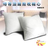 【凱蕾絲帝】特級可水洗棉-抱枕裸棉內材58~60CM專用-三入