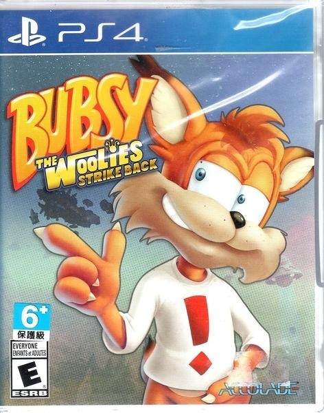 【玩樂小熊】現貨中 PS4遊戲 大笨貓 烏力的反擊 Bubsy:The Woolies Strike Bac 英文版