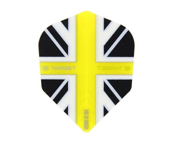 【TARGET】VISION ULTRA SHAPE UnionJack Ckear Yellow 331410 鏢翼 DARTS