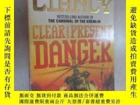 二手書博民逛書店外文書罕見TOM CLANCY CLEAR AND PRESENT DANGER(共816頁,32開)Y159