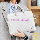日式手提筆電包 蘋果華為13寸14寸15寸16寸筆記本保護套時尚【雲木雜貨】