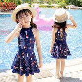 兒童泳衣連體小中大童泳裝女童游泳衣  ys2162『美鞋公社』
