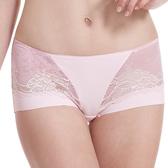 LADY 涼感纖體美型系列 機能調整型 中腰平口褲(漾采粉)