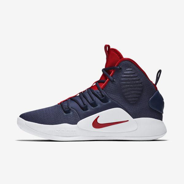 ▲Nike 籃球鞋 Hyperdunk X EP XDR 藍 紅 USA 美國隊 高筒 耐磨大底 男鞋 運動鞋 AO7890-400