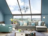 雪梨L型布沙發-尺寸布色可訂製【歐德斯沙發】