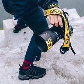 FR2相機手腕帶佳能黃色字母編織抖音手繩人氣斜挎背帶掛脖繩快拆 夢露時尚女裝