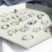 S925純銀活口戒尾戒簡約配飾女款戒指