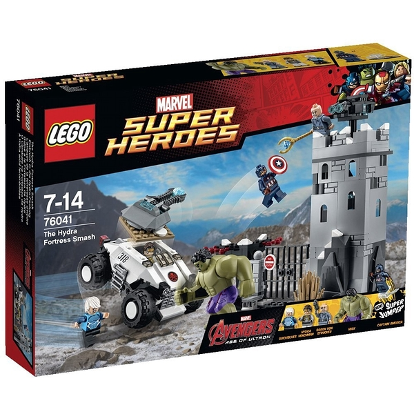 LEGO 樂高 MARVEL 漫威系列 1 The Hydra Fortress Smash 76041