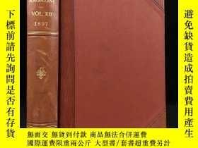 二手書博民逛書店1897年罕見帕爾瑪雜誌 數百幅插圖 真皮精裝18開Y11827 Lord Frederick Hamilto