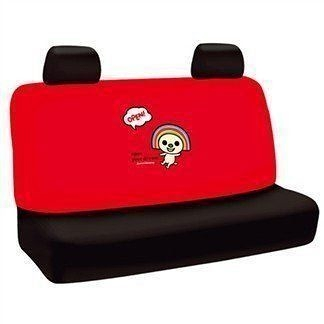 車之嚴選 cars_go 汽車用品【OP-10212】OPEN小將 Dream系列 汽車大後座椅套 紅色