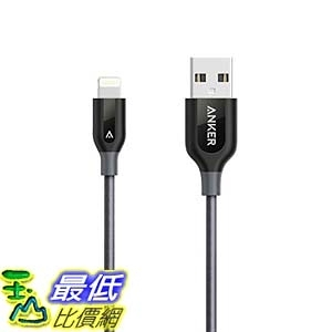 [106美國直購] Anker A81210A2 充電線 傳輸線 PowerLine+ Lightning Cable (3ft) Durable and Fast Charging Cable