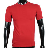 BURBERRY紳士透氣排汗短袖棉質上衣(紅色)085145-3