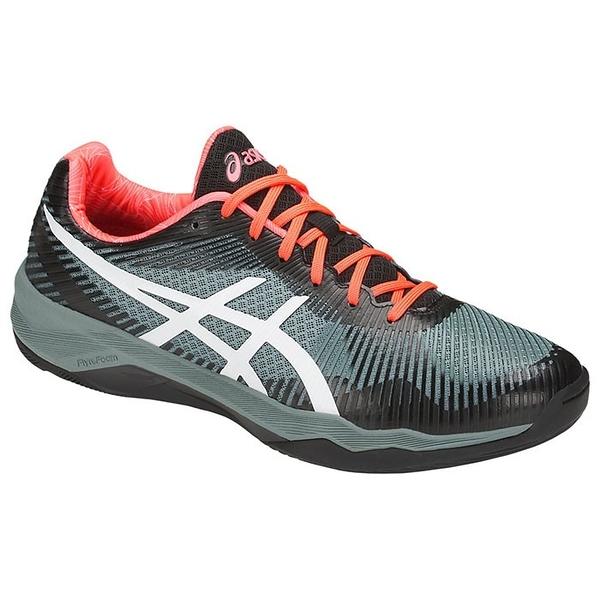 樂買網 ASICS 18SS 高階款 男排球鞋 VOLLEY ELITE FF系列 TVR721-1001 贈防撞護膝