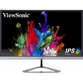 ViewSonic優派VX2476-SMHD 24型IPS Full HD 邊框護眼寬螢幕顯示器/內建喇叭/零閃屏/抗藍光技術/廣視角/