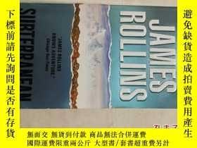 二手書博民逛書店英文原版罕見Subterranean by James Roll