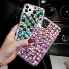 蘋果 iPhone12 mini 12 Pro Max 11 Pro Max SE2 XS MAX IX XR i8+ 魚鱗水晶 手機殼 水鑽殼 訂製