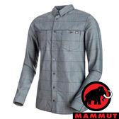 【MAMMUT 長毛象】男 Alvra Longsleeve 長袖排汗羊毛襯衫 50035『海洋藍』1015-00010 襯衫 長袖
