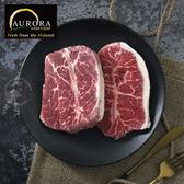 【超值免運】美國奧羅拉極光黑牛嫩肩牛排6片組(100公克/1片)