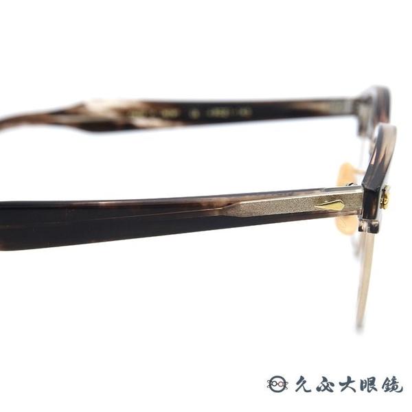 BJ CLASSIC 眼鏡 SIRMONT (透棕-金) 賽璐珞 復刻版 眉框 近視眼鏡 久必大眼鏡