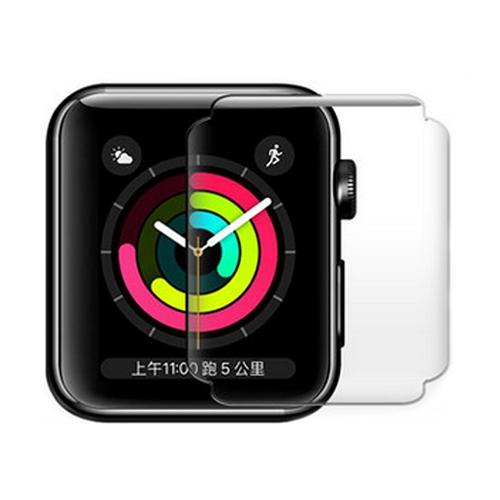 奈米防爆貼膜 蘋果手錶 iWatch高清軟膜 1/2/3/4/5/6/SE代 38/42/40/44mm 蘋果手錶防爆膜