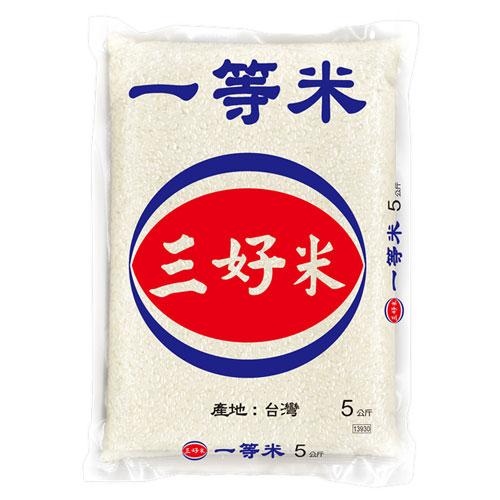 三好米 一等米5KG【愛買】
