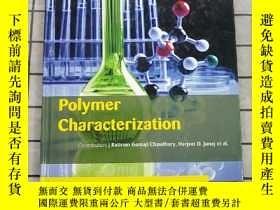 二手書博民逛書店Polymer罕見Characterization 進口原版 Y268220 Polymer Characte