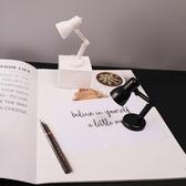 桌面擺件簡約小清新迷你LED臺燈家居桌面擺件學生創意學習閱讀護眼小夜燈 玩趣3C
