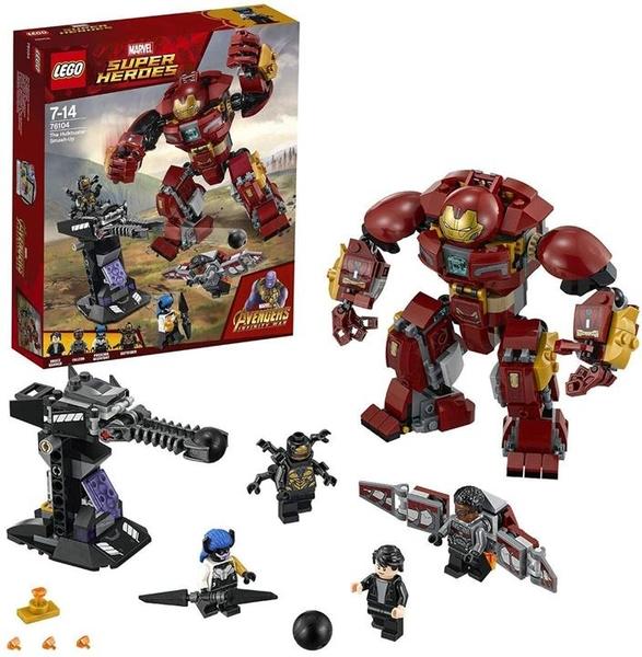 LEGO 樂高 超級英雄系列 哈爾克巴斯特 Smash Up 76104