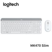 Logitech 羅技 MK470 Slim 纖薄無線鍵盤滑鼠組 珍珠白
