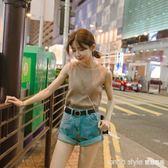 夏季韓版新款外穿內搭上衣打底吊帶百搭無袖T恤針織背心女