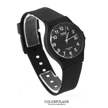 CASIO卡西歐經典基本款手錶 有保固 貼心日期窗顯示腕錶 超輕巧設計 柒彩年代【NE1330】原廠公司貨