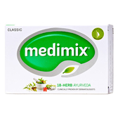 Medimix 阿育吠陀百年經典美膚皂 125g(深綠)【屈臣氏】