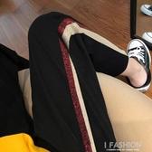 2019春裝新款大碼九分休閒哈倫褲學生韓版寬鬆百搭運動褲女-Ifashion