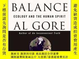 二手書博民逛書店Earth罕見in the Balance: Ecology and the Human Spirit平衡中的地球